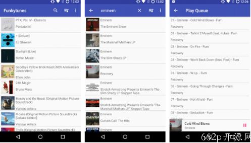 用于Android的流媒体音乐播放器案例源码