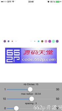 IOS彩色点状指示器源码