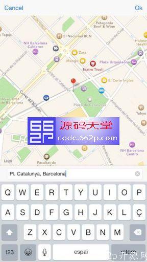 地图地址信息源码