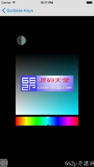 HSB 颜色选择器