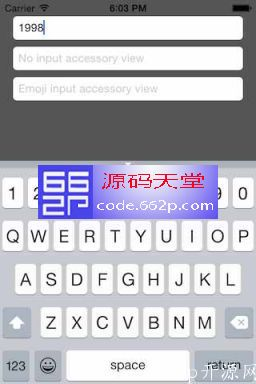 模仿原生 iOS 键盘