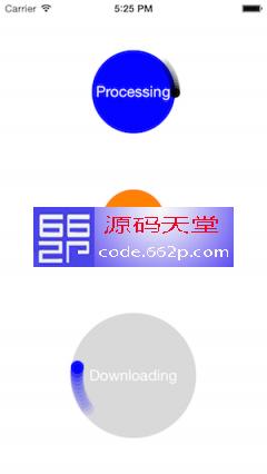 内置活动指示器 iOS源码