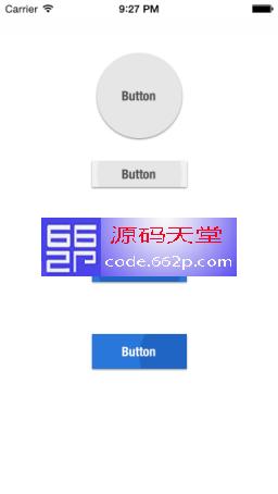 自定义的 UIButton 效果  iOS源码