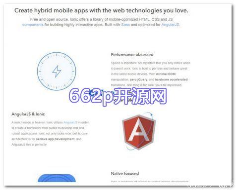 ionic HTML5