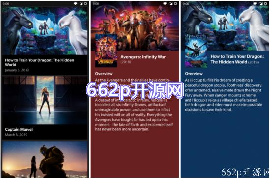 查看电影/电视信息的开源Android应用程序
