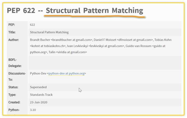 Python 为什么不支持 switch 语句?